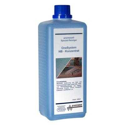 OneSystem sanitaarpuhastusvahendi kontsentraat HB 1L